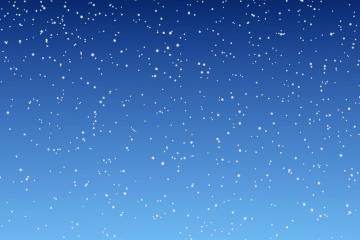 blauwe sneeuw animatie achtergrond
