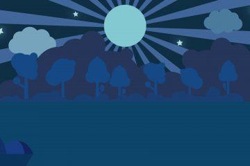 achtergrond blauw
