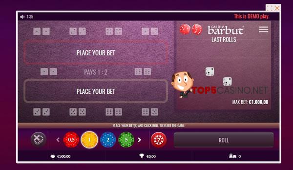 barbut spelen in online casino