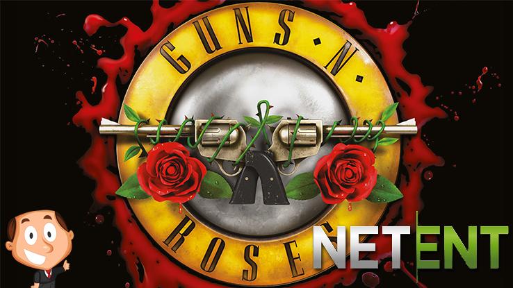 Guns 'n roses videoslot van netent logo