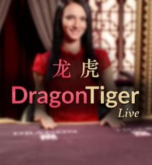 Live dragon tiger spelen van Evolution Gaming
