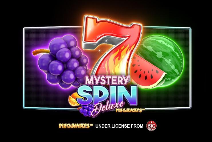 Mystery Spin DeLuxe Megaways Videoslot logo