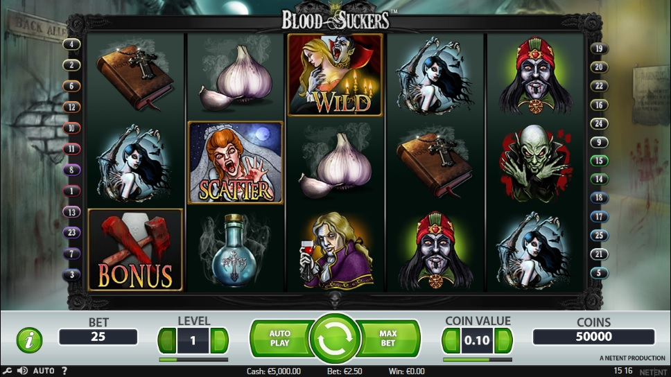 Bloodscukers videoslot spel