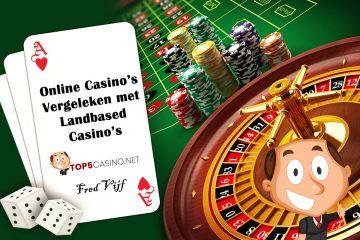 plaatje online casino vergelen met landbased casino